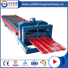 Steel Glazed Roof Panel Roll Forming Machine