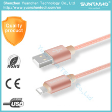 Нейлон быстрая зарядка кабель 8pin USB Синхронизация данных молнии для iPhone