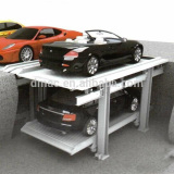 Single unit for 2 cars two levels car parking lift/high quality double deck parking