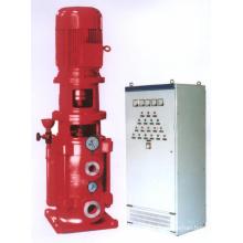 Pompe multicellulaire verticale pour la lutte contre l'incendie