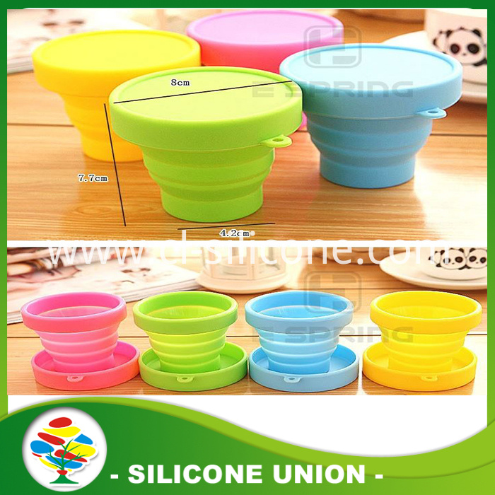 silicone collapsible cup