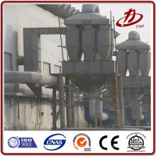Filtre multi-cyclones à haute température à haute température dans une chaudière à charbon