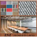 Spectra woven vinyl flooring, Woven vinyl fabric floor by ZNZ