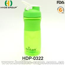 Bidon de 800ml protéines Shaker en plastique avec Ss Ball (HDP-0328)
