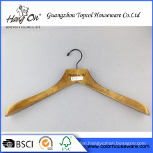 Garment wooden broad shoulder hanger