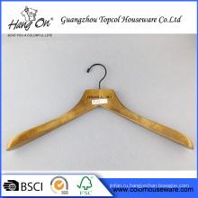 Вешалка для одежды деревянные широкое плечо