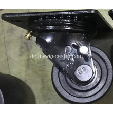 3 '' Plate Swivel PA Korrosionsschutz 220 ° Low Gravity Caster