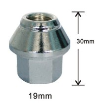 2 piece 30mm nuts