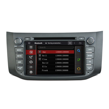 B17 2012-2014日産自動車用DVDプレーヤー