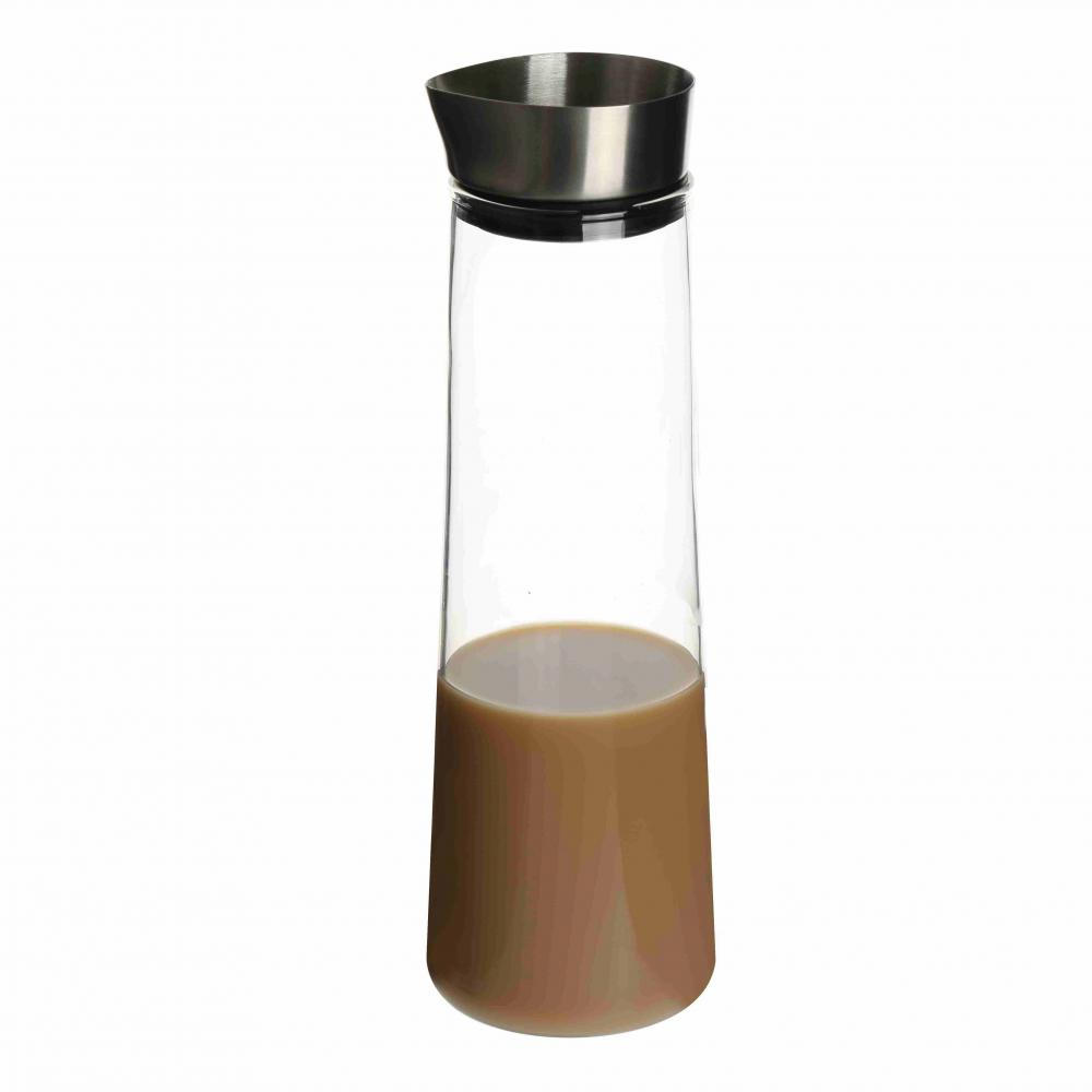 2017 New Design Glass Coffee Pitcher With Inox Lid