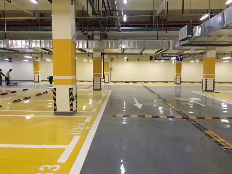 Yellow Epoxy Topcoat
