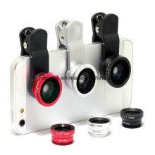 2 in 1 neue Handy Zubehör Fischauge Kameraobjektiv