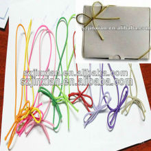 Silver Knotted Elastic Rope,Elastic Bow