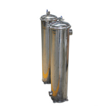 Filterpure Industrial High Flow Filter Stainless Steel Housing Water Purification
