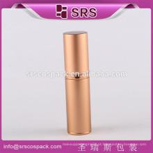 China Manufatura Container Cosmético 15ml 30ml 50ml 80ml Redondo Garrafa de Alumínio 50 ml