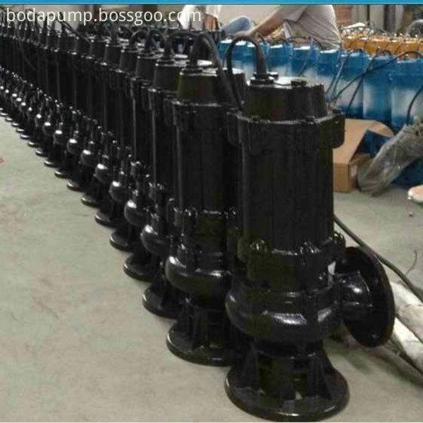 AS AV type tear diving sewage pump 5