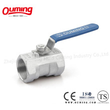1 PC Stainless Steel Thread Ball Valve
