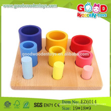 OEM & ODM Sequence Stack Sort,Circular Wooden Folding Cup Toys,Wooden Sorting Set