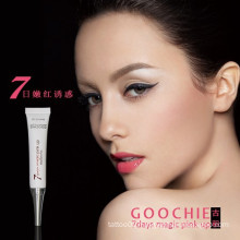 Herbal lipstick permanent makeup lip gloss Goochie waterproof lipstick
