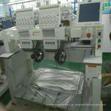 Cap Vestuário Garment Embroidery Machine com 2 cabeças 9/12/15 agulhas preços