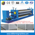 Horizontal round wave roll forming machine
