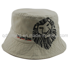 Top Quality Washed Print Embroidery Fishing Bucket Hat (TMBH9446)