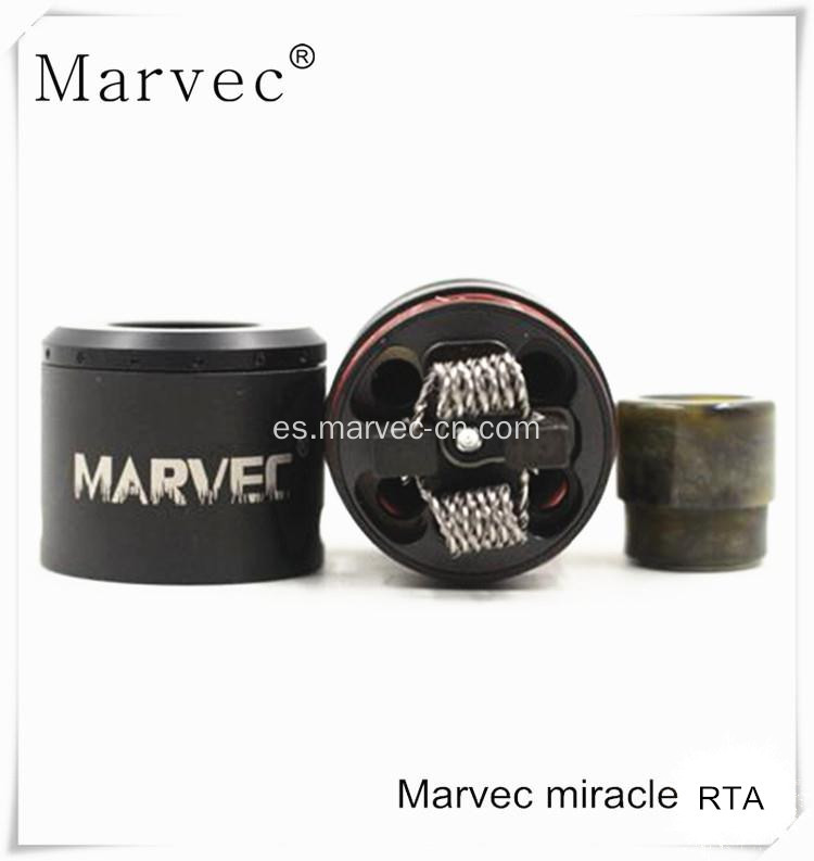 Marvec miracle RTA Atomizer vapor cig starter kit