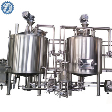 100L Home brewery mini Beer brewing equipment turnkey project  for pub