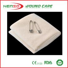 Bandagem de triangulo de gaiola de algodão HENSO