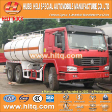 Sinotruck 6x4 20000L anti-corrosion tanker truck for sale , china factory supply