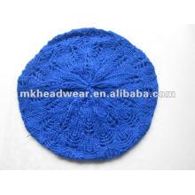 Chapeau en tricot jacquard