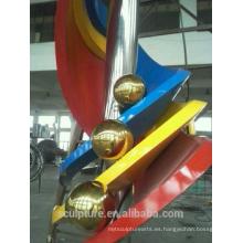 Escultura al aire libre del jardín de la escultura de la escultura superior de 20metal para la venta