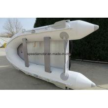 PVC-Gummi aufblasbares Geschwindigkeits-Boot