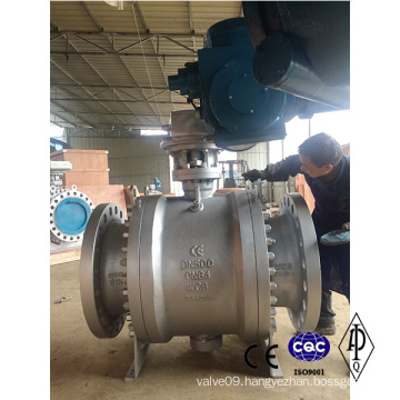 Carbon Steel Wcb Pn64 Dn500 Electric Ball Valve
