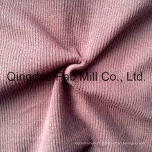 Poly / Rayon / Spandex tecido de malha costela 2X2