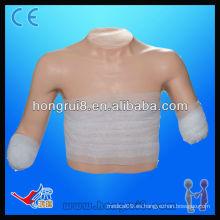 Modelo de vendaje avanzado ISO de posición superior, modelo de cuidado de heridas