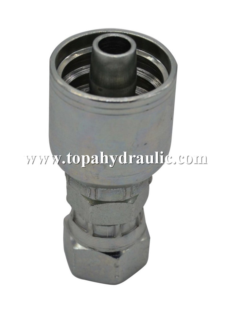 Suction angled connector hose tee fitting