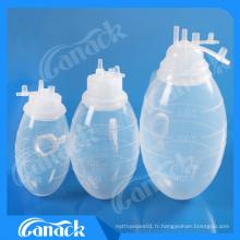 Ampoule de drainage des plaies de silicone Apponomisé Ce ISO