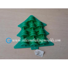 Christmas tree shape silicone chocolate mould, pudding mold, candy mould, ice mould