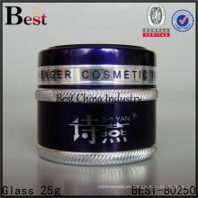 tarro de aluminio para crema cosmética, 2 muestras gratis, en China