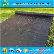 tissu de prévention d'herbe de pp / tapis de barrière de mauvaise herbe, herbe empêchent le tapis de mauvaise herbe tissé