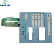 Chave de membrana do sistema de pesagem de veículo conveniente WLS