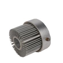 LED aluminium CNC heat sink profile