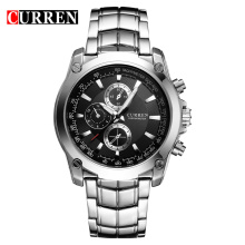 curren fashion trend business men watch high quality quartz watch
