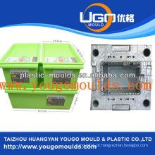 Misturador novo do recipiente da pena do agregado familiar 2013 e molde da caixa da ferramenta da injeção do bom preço