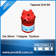 Rock drill tungsten carbides taper button bit