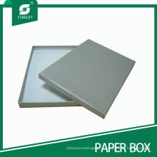 Caixa de presente de papelão elegante para embalagem com tampa