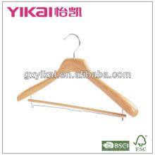 Perchas de abrigo de madera para la ropa con mejor quanlity