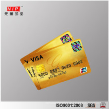 Silber Quadrat 3d ture Farbe Hologramm Aufkleber für ID-Karte