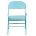 Sillas plegables completas baratas del marco metálico del precio de fábrica que encuentran la silla